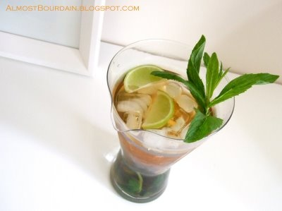 Ice Minted Lime Tea. Cool mint, fresh lime, ice tea... perfect ...