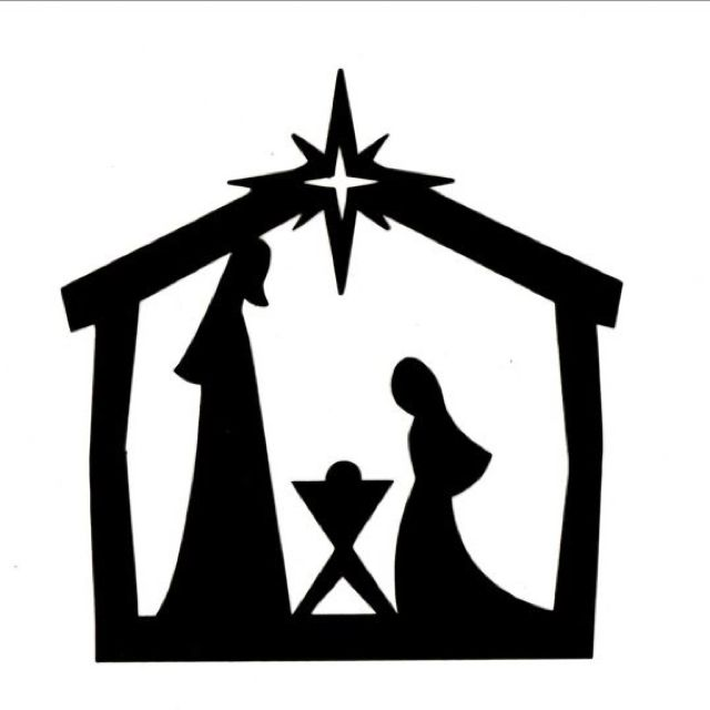 Silhouette Nativity | New Calendar Template Site