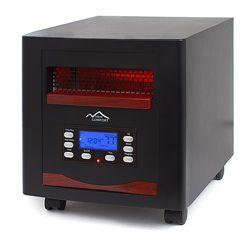 new comfort es1500 energy efficient infrared heater basement