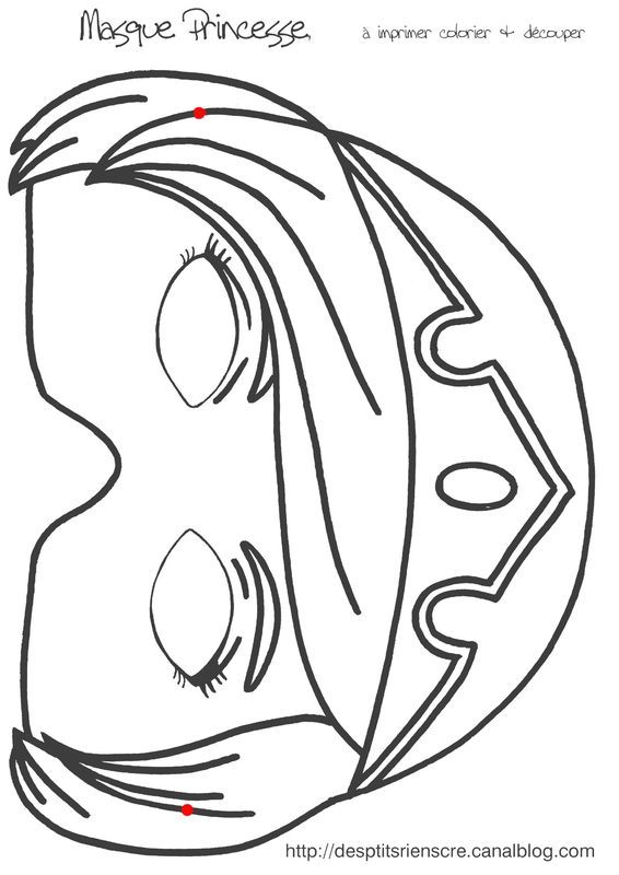 Mardi gras masques imprimer craft ideas pinterest - Masque de carnaval a imprimer ...