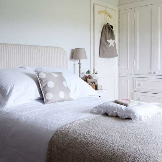 ... to a neutral scheme. Team beige and grey with white for added warmth