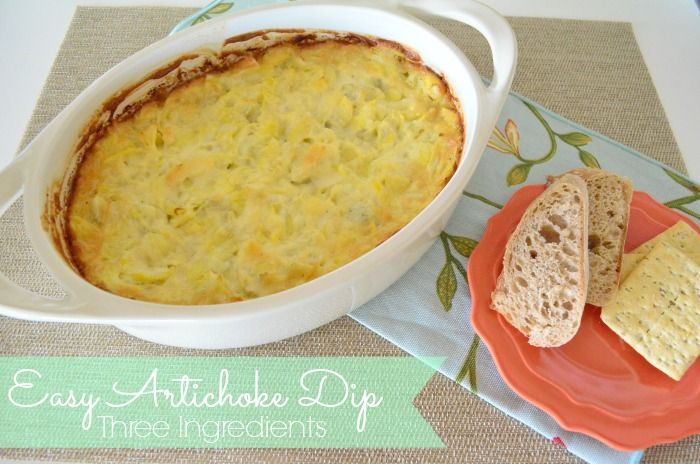 Tasteful Tuesday: Easy Artichoke Dip...easy dip and to add a kick put ...