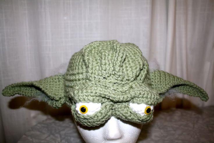 Free Crochet Pattern Yoda Hat Pakbit For