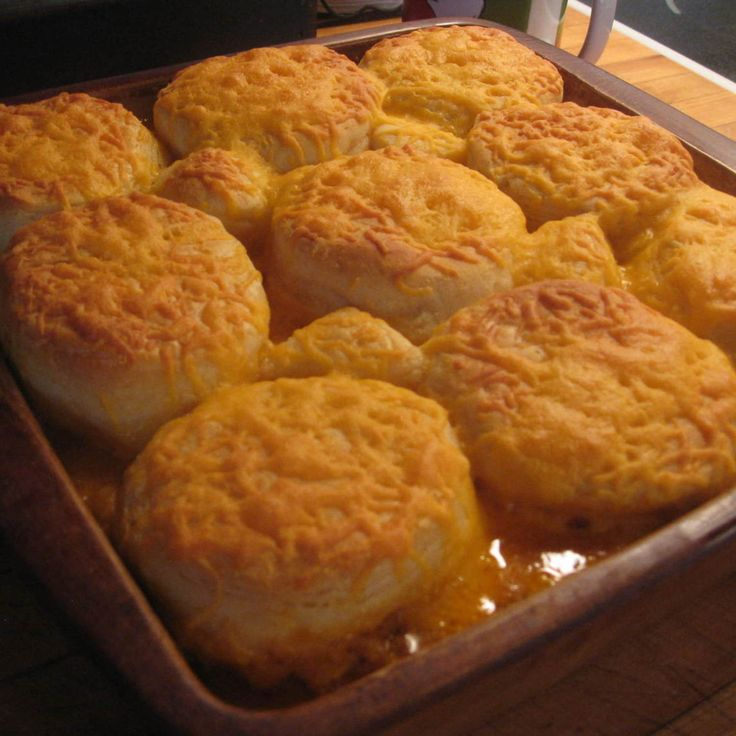 Beef and Biscuit Casserole | Dinner! | Pinterest