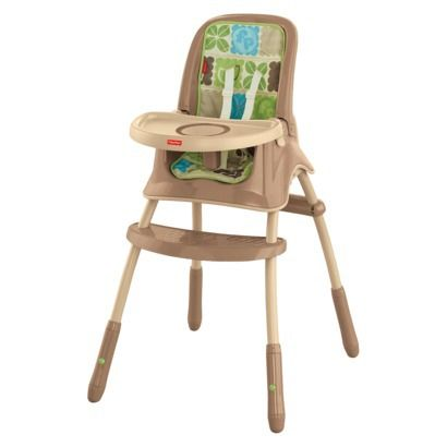 Fisher price grow with me high chair rainforest friends