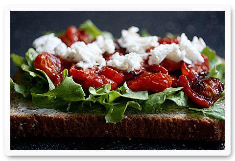 Roasted Tomato Caprese BLT Sandwich | Recipe