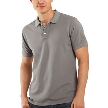 Jcp piqu polo shirt jcpenney kevin pinterest for Jcpenney ladies polo shirts