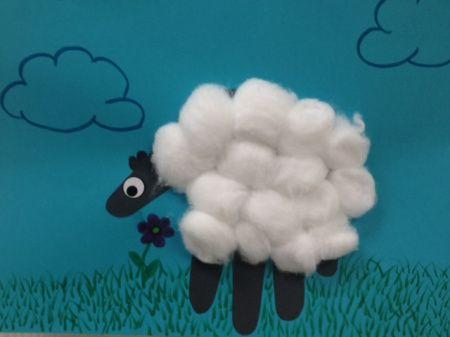cotton ball sheep new calendar template site