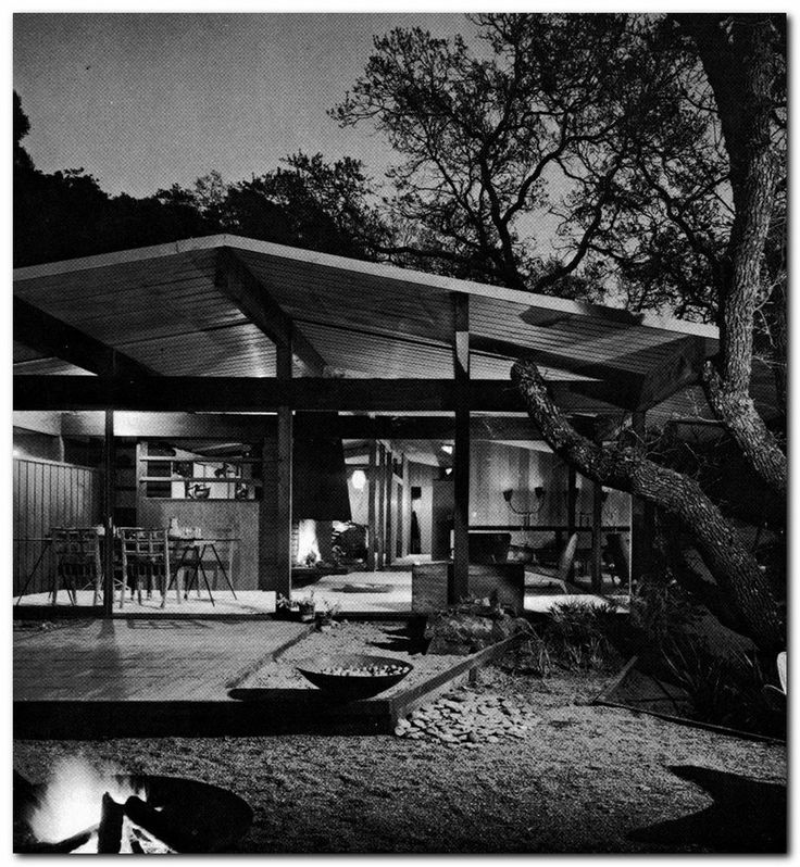 1969 outdoor lighting the right atmosphere for your mid century modern