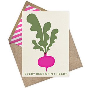 Food Valentine's Day Cards - Etsy Holiday Cards - Country Living