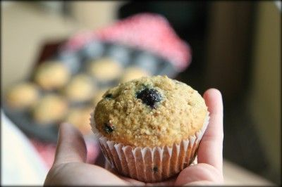 Healthy Banana Blueberry Muffins | Healthy Living | Pinterest