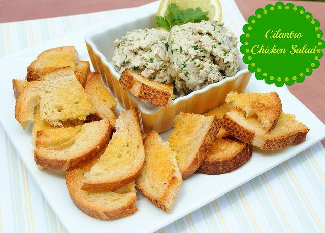 Cilantro Chicken Salad #SummerEats | yums. | Pinterest