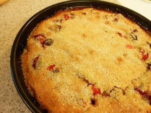Gluten Free Nantucket Cranberry Pie | bon appetit | Pinterest