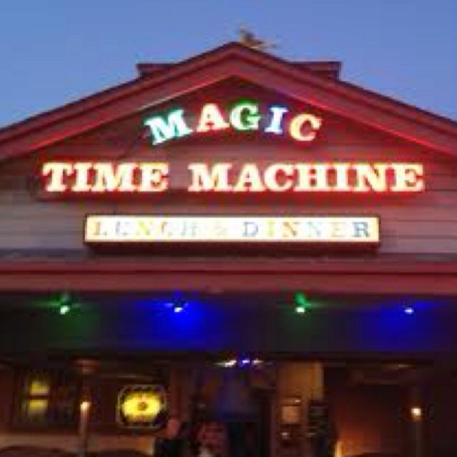 magic time machine birthday