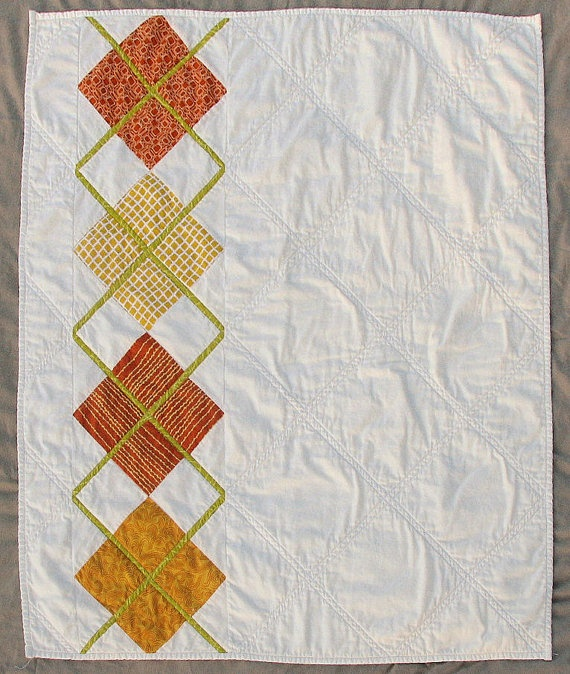 Modern Argyle Quilt Pattern, PDF, Digital File