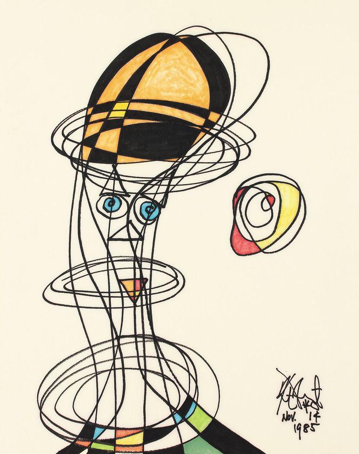 Kurt vonnegut drawings breakfast of champions