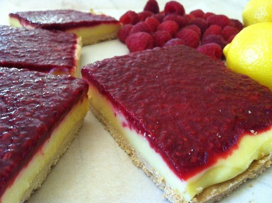 This Lemon Raspberry Bar recipe was inspired by Chef Thomas Kellers ...