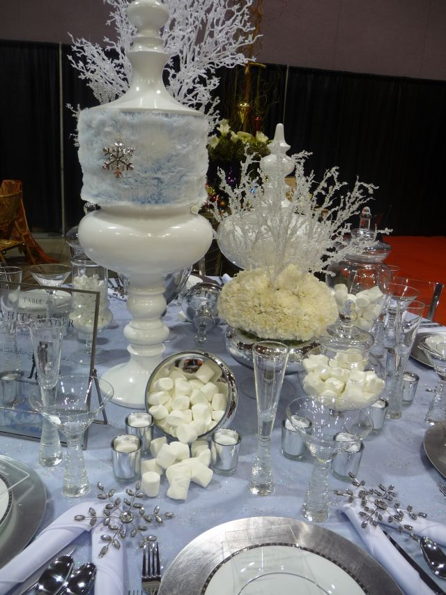 Winter Table Setting Decor Pinterest