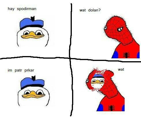 Dolan duck spiderman - photo#5