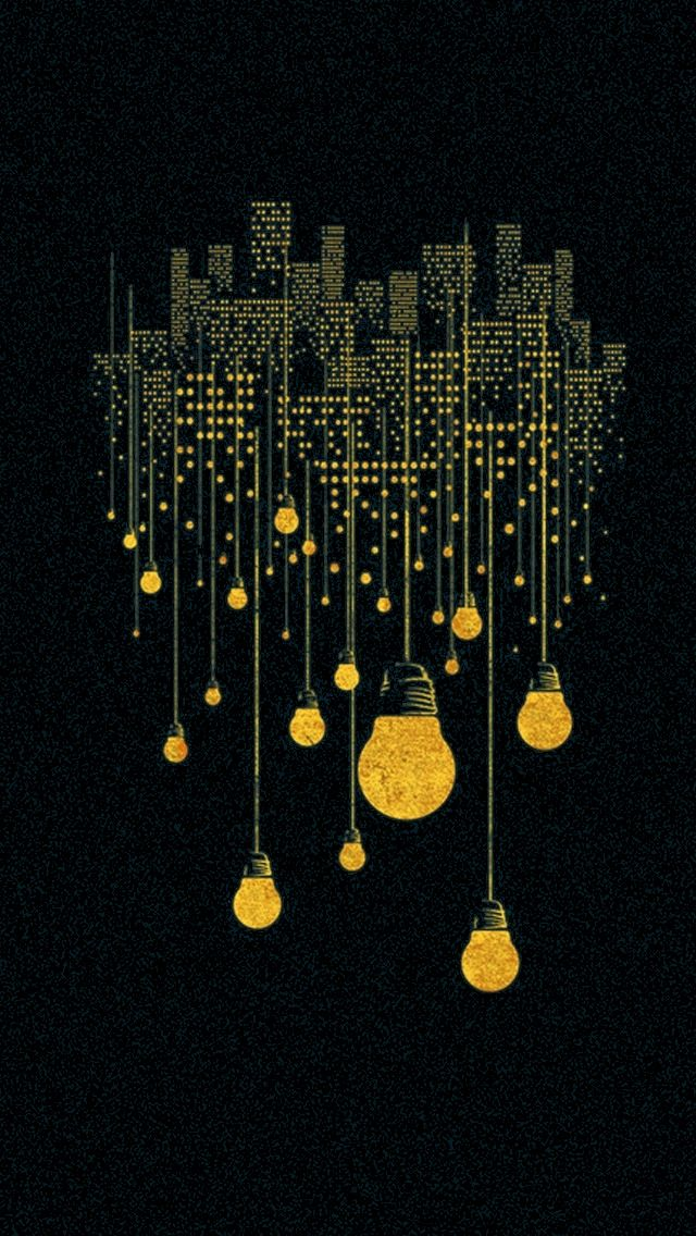 Hanging Lights Free Mobile Phone Wallpapers Pinterest