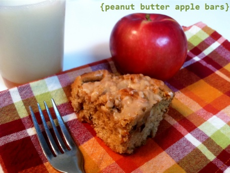 bars peanut butter and honey granola bars peanut butter apple bars ...
