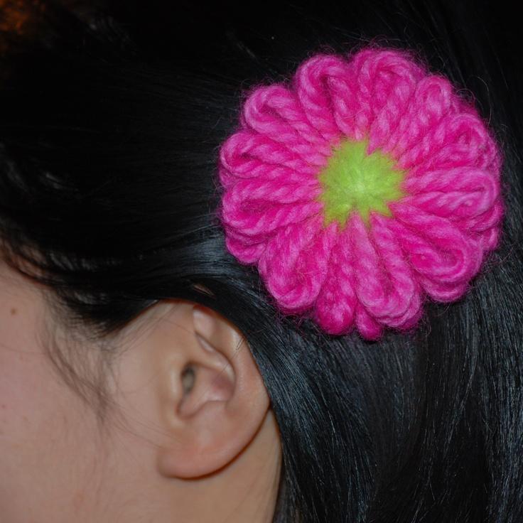 Knitting Flowers On A Loom : Knifty knitter knitting loom flower