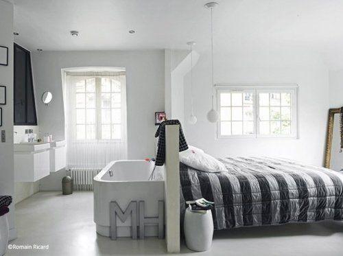 254. Le lit hors le mur  Deco  Pinterest