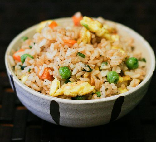 Egg and Veggie Quick Fried Rice #Fried #Veggies #FriedVeggies