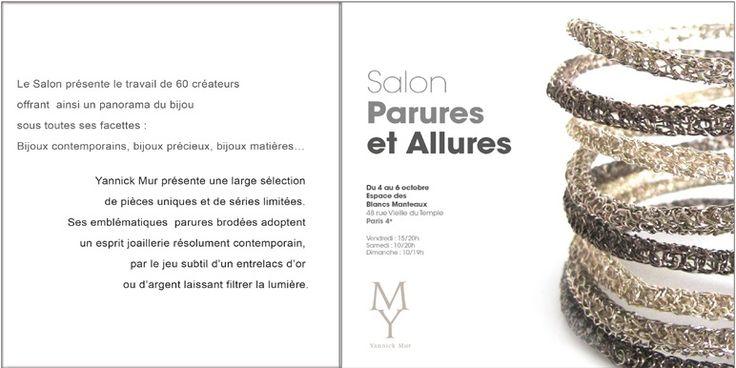 Circuits bjoux Yannick Mur - Salon Parures et allures