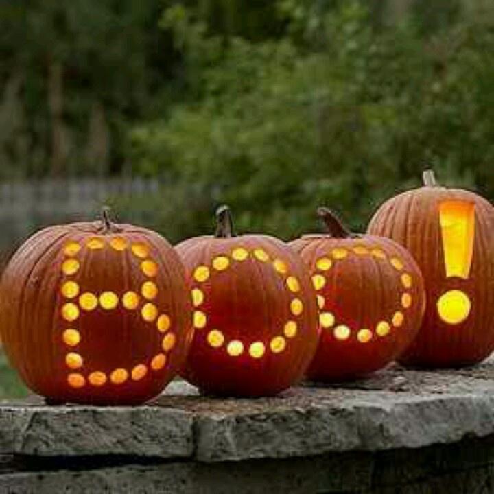 boo halloween pumpkins halloween pinterest