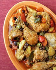 Chicken Fricassee (Fricassee De Poulet a L'Ancienne) | Recipe