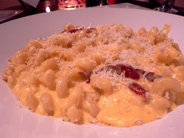 Mac And Cheese With Roasted Chicken, Goat Cheese, And ...