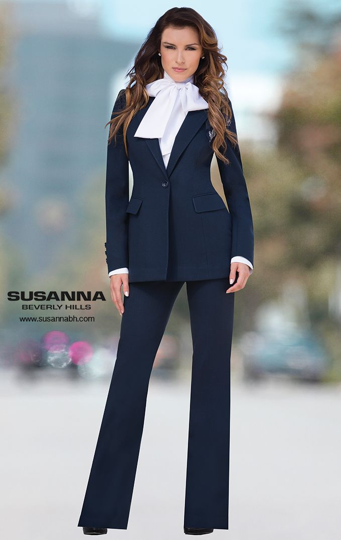 Navy blue pants with pockets, Blue cotton trousers suit, Fashion ladies pants, Dark blue pantsuit, Formal dress code trousers, Office pants CredoinTE 5 out of 5 stars.