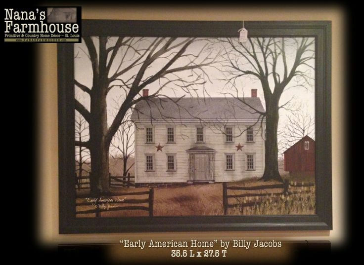 ... American Home at Nana's Farmhouse | Primitive Decorating Ideas