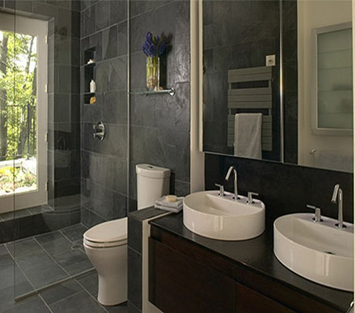 Modernos ba os interiores de casas fotos de ba os fotos for Banos interiores para casa