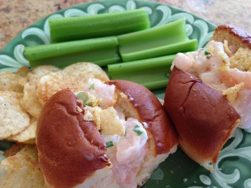 Mini Shrimp Rolls recipe | Appe -'TEASERS' | Pinterest
