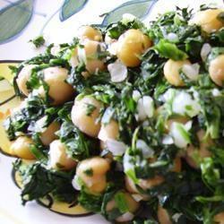 Espinacas con Garbanzos (Spinach with Garbanzo Beans) Recipe - Bush ...