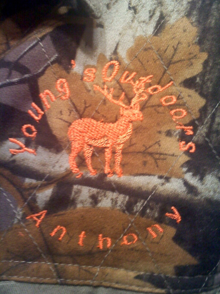 Monograms for  Young's Outdoors