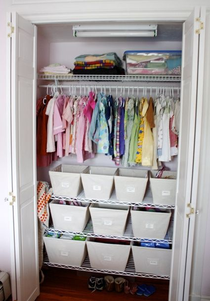 Small Closet Organization Idea Home Ideas Pinterest
