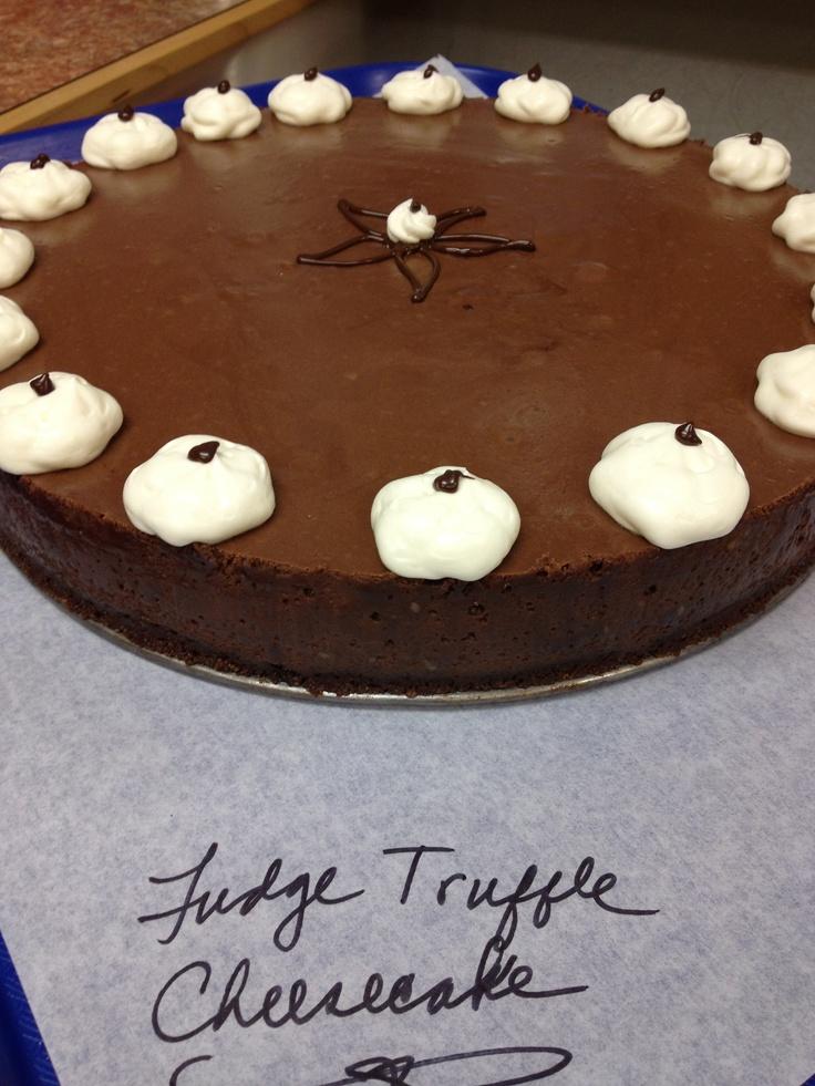 Fudge truffle cheesecake | Desserts | Pinterest