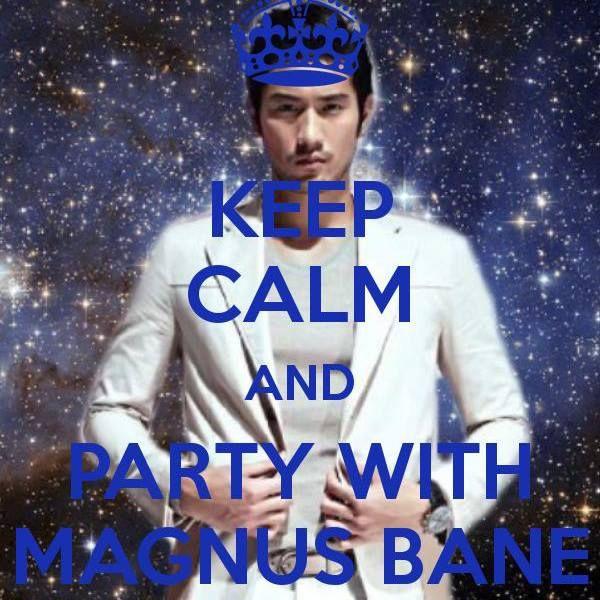 And party with magnus bane magnusbane tmimovie warlock godfreygao