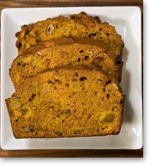 Pumpkin Quick Bread | Breads, rolls and Muffins | Pinterest