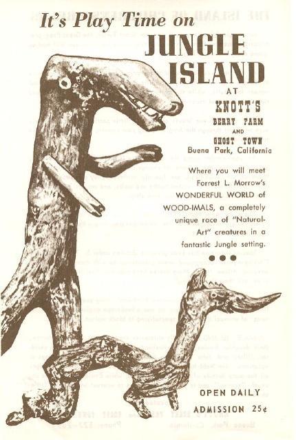 Knott's Berry Farm Jungle Island