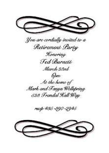 Military Retirement Party Invitations was adorable invitations design