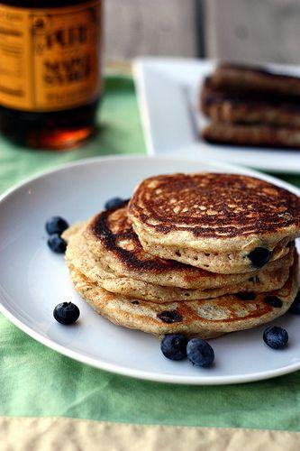 Blueberry Buttermilk Pancakes | Dessert/Bakery | Pinterest