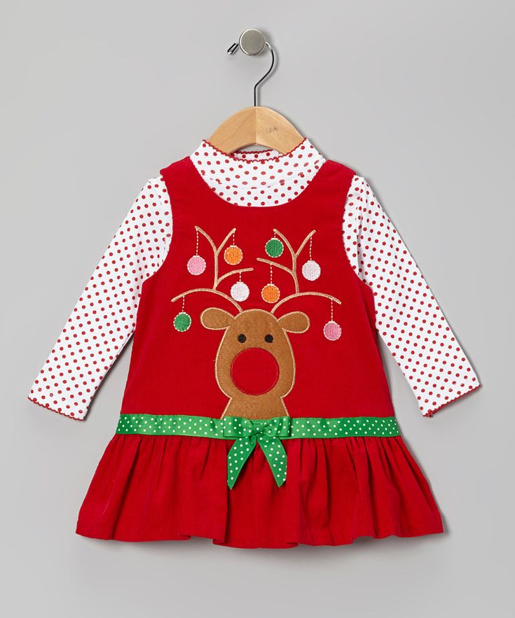 Take a look at this gerson amp gerson red reindeer corduroy top amp jumper
