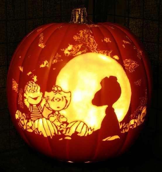 Cool Great Pumpkin Carving Halloween Ideas Pinterest