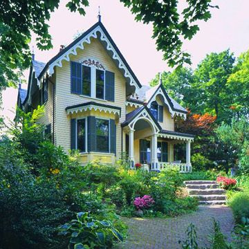 Victorian style home ideas for Victorian house trim