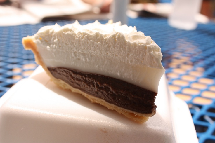Chocolate Haupia Pie. | hawaii | Pinterest