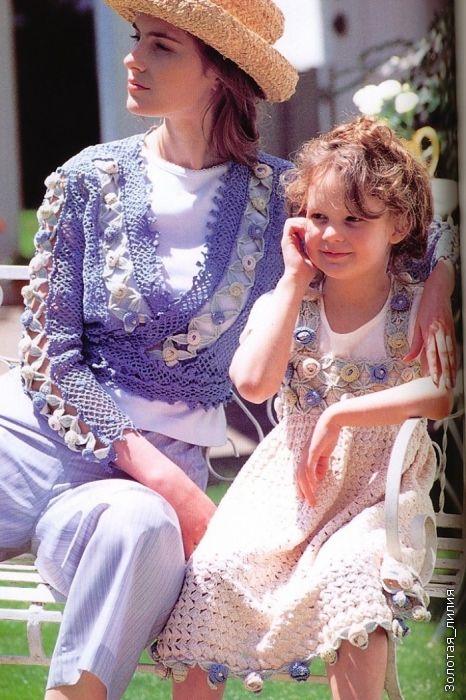 Blusas para mãe e filha - how make